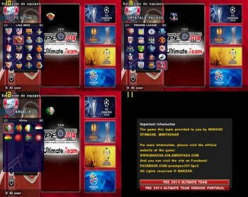PES 2014 PS2 Ultimate Team