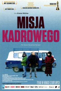 Przód ulotki filmu 'Misja Kadrowego'