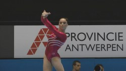 McKayla Maroney at the 2013 World Championships Podium Training in Belgium on September 29, 2013
