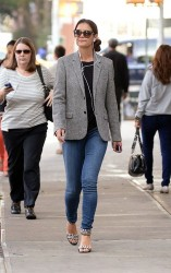Katie Holmes - out in NYC 10/3/13