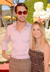 Kaley Cuoco - The Fourth-Annual Veuve Clicquot Polo Classic Event in LA 10/5/13