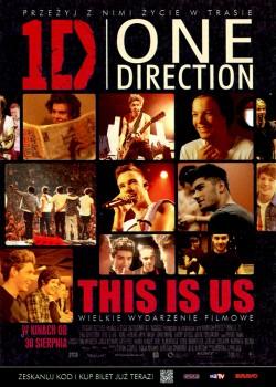 Przód ulotki filmu 'One Direction'