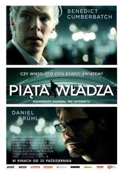 Przód ulotki filmu 'Piąta Władza'