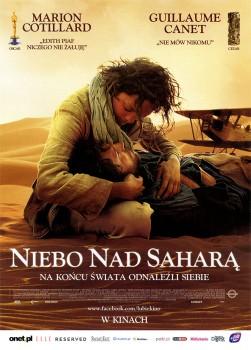 Przód ulotki filmu 'Niebo Nad Saharą'