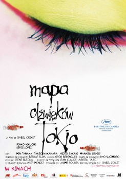Polski plakat filmu 'Mapa Dźwięków Tokio'