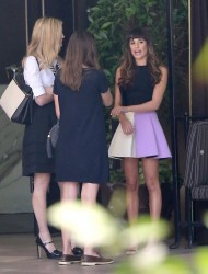 Lea Michele - Out in LA 10/8/13