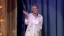 Miley Cyrus - Late Night With Jimmy Fallon, October 9, 2013
