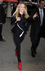 Hayden Panettiere at ABC Studios in New York City on October 9, 2013