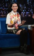 Katy Perry - Short Leather Skirt - Late Night With Jimmy Fallon - Oct 10 2013 (x8)