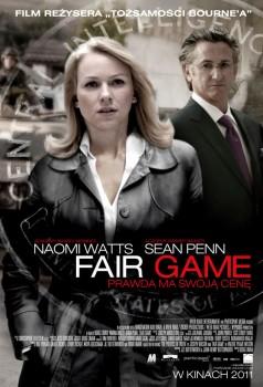 Polski plakat filmu 'Fair Game'