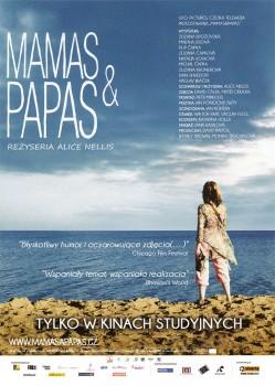 Przód ulotki filmu 'Mamas & Papas'