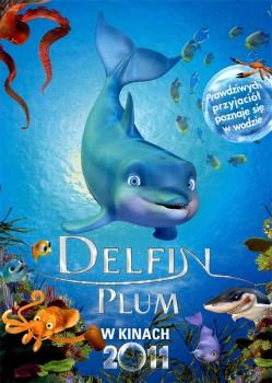 Przód ulotki filmu 'Delfin Plum'