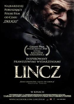 Przód ulotki filmu 'Lincz'