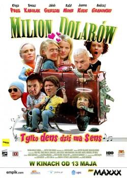 Przód ulotki filmu 'Milion Dolarów'