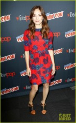 Kristin Kreuk - 'Beauty & the Beast' panel New York Comic Con 10/12/13
