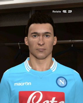 download pes 2014 Callejon Face By GenialIdiot