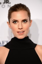 Allison Williams - Elton John AIDS Foundation Benefit in NYC 10/15/13