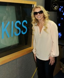 Britney Spears - at Kiss FM studios in London 10/16/13