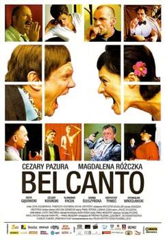 Przód ulotki filmu 'Belcanto'