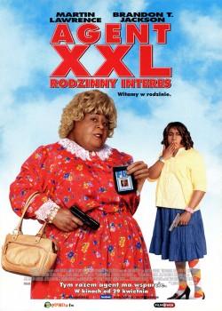 Przód ulotki filmu 'Agent XXL: Rodzinny Interes'