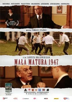 Przód ulotki filmu 'Mała Matura 1947'