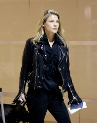 Ali Larter - at LAX Airport 10/17/13