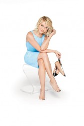 "Julianne Hough - leggy and barefoot for QVC ""Inside Q"" magazine cover October 2013"
