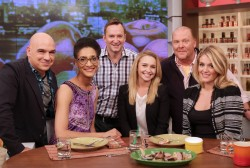 Hayden Panettiere on The Chew in New York City on October 21, 2013