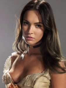 Megan Fox - Jonah Hex promotional shoot 2010