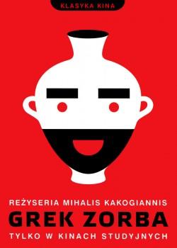 Przód ulotki filmu 'Grek Zorba'