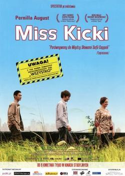 Przód ulotki filmu 'Miss Kicki'