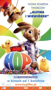 Przód ulotki filmu 'Hop'