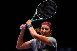 Victoria Azarenka - practicing at TEB BNP Paribas WTA Championships in Istanbul 10/22/13