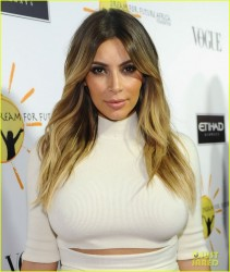 Kim Kardashian -Dream for Future Africa Foundation Inaugural Gala in Beverly Hills 10/24/13