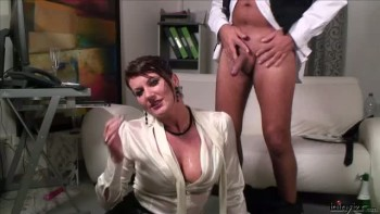 Blouse drenched in piss