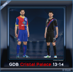 pes 2014 Crystal Palace F.C. 2013 GDB by G-Style