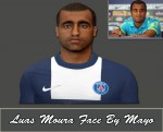 pes 2014 Face Lucas Moura By Fayssal Mayo