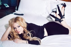 Avril Lavigne - 2013 Glamoholic Magazine Photoshoot
