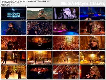 Taylor Swift - The Last Time - The X Factor UK s10e20 HD 720p - 11/03/13