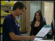 Kristen Alderson, cleavage on General Hospital 11/5/13