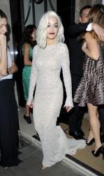 Rita Ora - Harper's Bazaar Women of the Year Awards in London 11/5/13