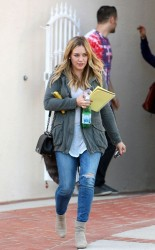 Hilary Duff - out in LA 11/6/13