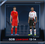 pes 2014 Liverpool F.C. GDB Update by G-Style
