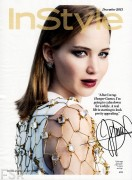 Jennifer Lawrence - Instyle Magazine December 2013