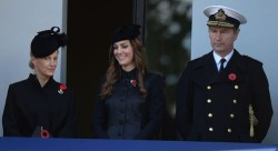 Catherine, Duchess of Cambridge - Remembrance Sunday in London 11/10/13