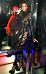 Nicole Scherzinger - Sushi Samba Anniversary Party in London 11/12/13