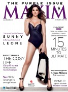 Sunny Leone - Maxim India November 2013