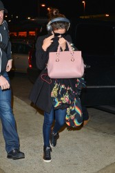 Selena Gomez - At LAX Airport 12/7/13