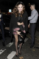 Kelly Brook - Steam & Rye in London 12/7/13