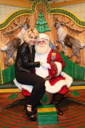 Rita Ora - Material Girl Holiday Collection Launch at Macy's in NYC 12/9/13